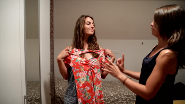 bigger woman problem-what to wear - high school prom stock videos and b-roll footage
