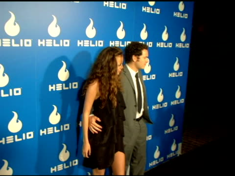 bijou phillips and danny masterson at the helio launch event at private residence in los angeles, california on may 3, 2006. - bijou phillips stock videos & royalty-free footage