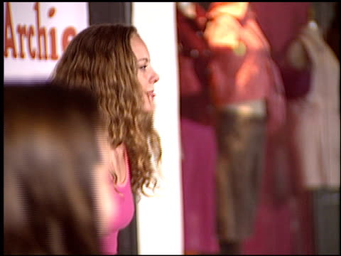 bijou phillips at the betty and veronica apparel launch at kitson store in beverly hills, california on may 24, 2004. - bijou phillips stock videos & royalty-free footage