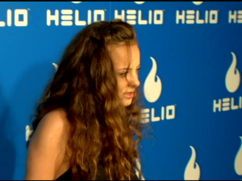 bijou phillips at the helio launch event at private residence in los angeles, california on may 3, 2006. - bijou phillips stock videos & royalty-free footage