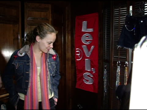 bijou phillips at the levi ranch at the sundance film festival at levi ranch in park city, utah on january 23, 2005. - bijou phillips stock videos & royalty-free footage