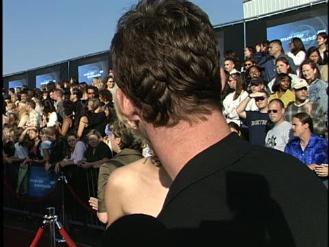 bijou phillips at the mtv movie awards 99 at barker hanger, santa monica airport in santa monica, ca. - bijou phillips stock videos & royalty-free footage