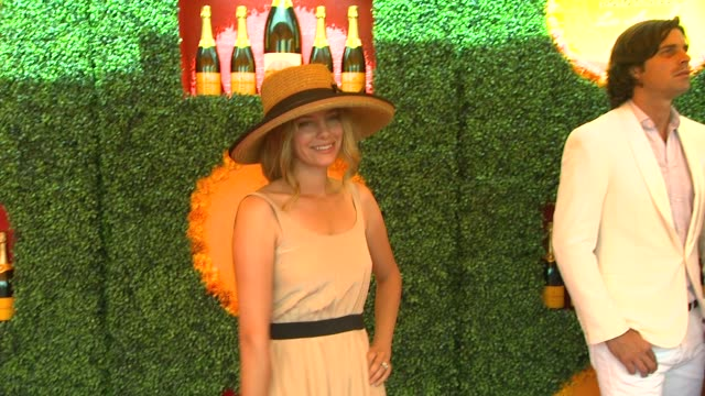 bijou phillips at the third annual veuve clicquot polo classic - los angeles at will rogers state historic park on 10/6/12 in los angeles, california - bijou phillips stock videos & royalty-free footage