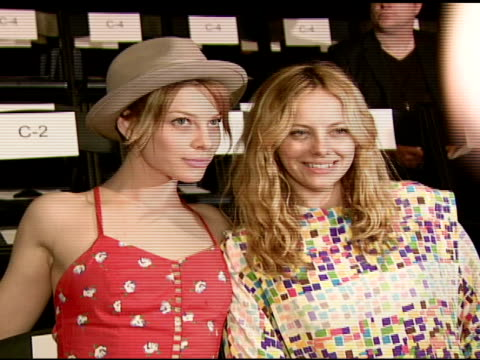 bijou phillips at the whitley kros: mercedes-benz fashion week at smashbox studios in los angeles, california on march 9, 2008. - bijou phillips stock videos & royalty-free footage