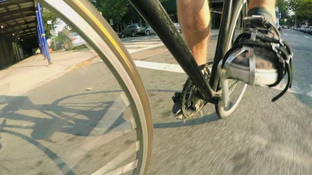 vídeos y material grabado en eventos de stock de bike gear - pedal