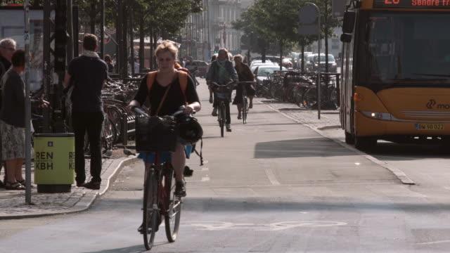 Bike Lane in Copenhagen