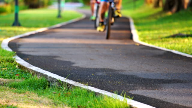 bike park - vondelpark stock videos and b-roll footage
