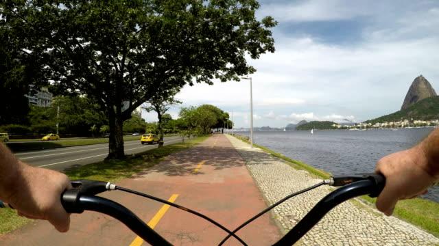 bike path in rio de janeiro - rio de janeiro stock videos & royalty-free footage