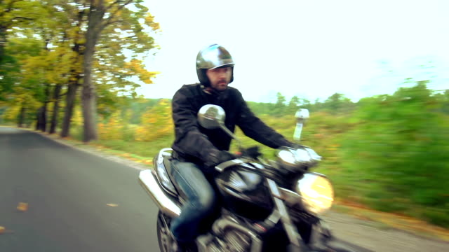Biker équitation moto