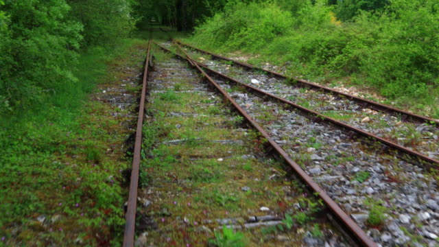 biking on an old railway, velorail, corgnac sur l'isle, dordogne, perigord vert, nouvelle aquitaine, france, europe - nouvelle aquitaine stock videos and b-roll footage