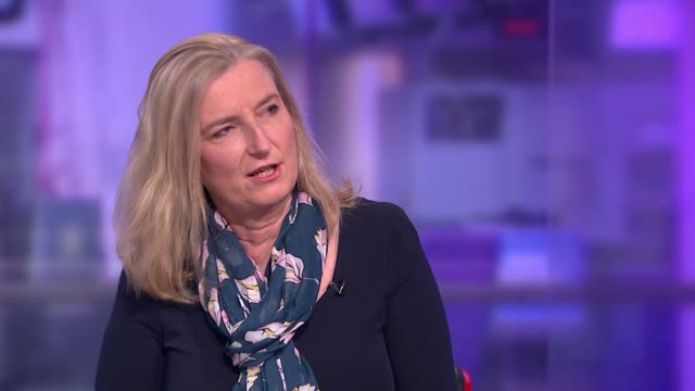 Bill aimed at protection of stalking victims brought to Parliament ENGLAND London GIR INT Sarah Wollaston MP LIVE STUDIO interview SOT and Alexis...