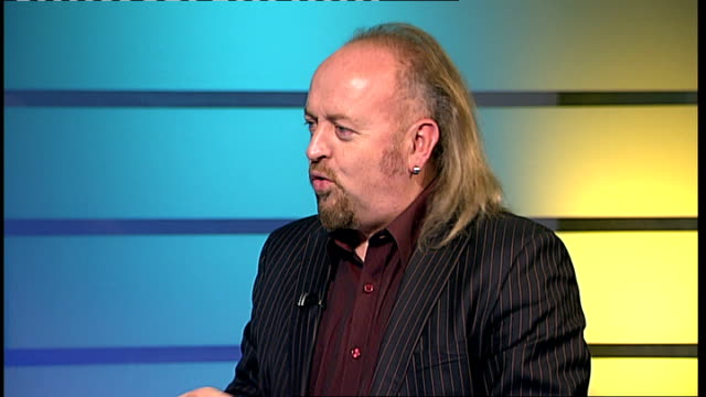 bill bailey interview sot on working with an orchestra in his comic show remarkable guide to the orchestra / on using show to introduce people to... - nina hossain video stock e b–roll