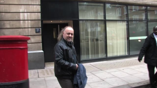 bill bailey leaves bbc radio two after appearing on the chris evans breakfast show. celebrity sightings - bill bailey at bbc radio two on december... - bbc radio stock videos & royalty-free footage