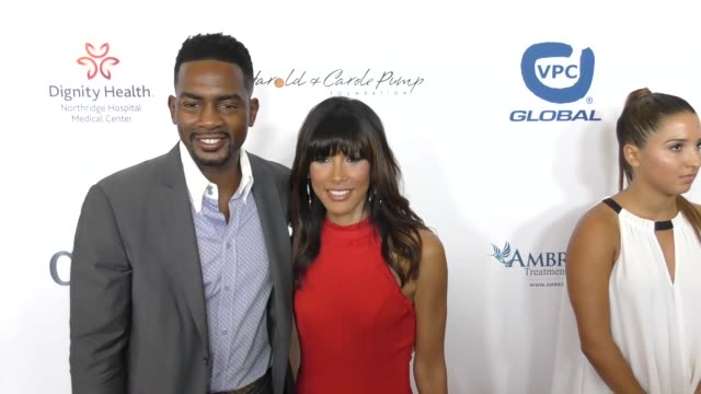 bill bellamy and kristen bellamy at the 17th annual harold and carole pump foundation gala at the beverly hilton hotel on august 11 2017 in beverly... - bill bellamy stock videos and b-roll footage