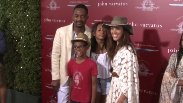 bill bellamy and kristen bellamy at the the john varvatos 13th annual stuart house benefit hosted by chrysler at john varvatos on april 17 2016 in... - bill bellamy stock videos and b-roll footage