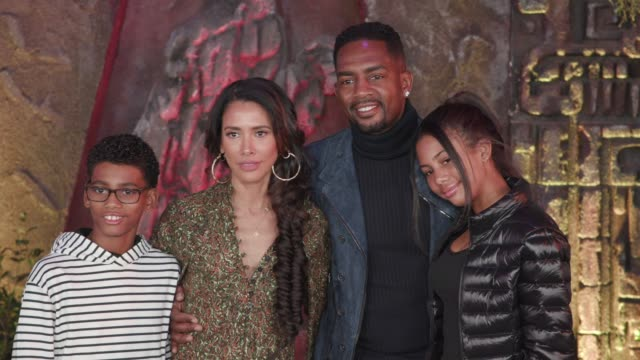 welcome to the jungle premiere in los angeles ca - bill bellamy stock videos and b-roll footage