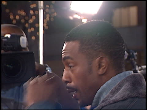 bill bellamy at the 'any given sunday' premiere on december 16 1999 - bill bellamy stock videos and b-roll footage