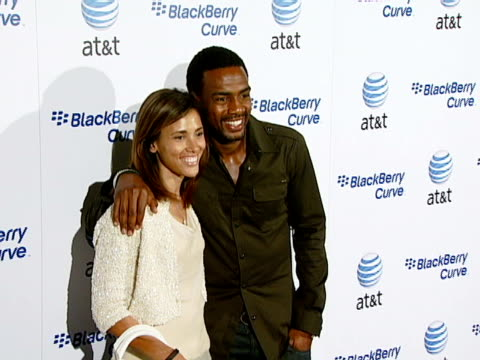 bill bellamy at the blackberry curve from att us launch party at beverly hills california - bill bellamy stock videos and b-roll footage