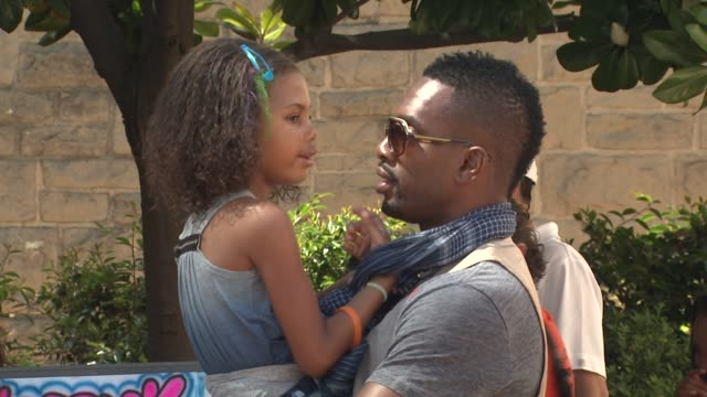 bill bellamy at the kidstock music and arts festival 'rocks on' with hudson jeans at beverly hills ca - bill bellamy stock videos and b-roll footage