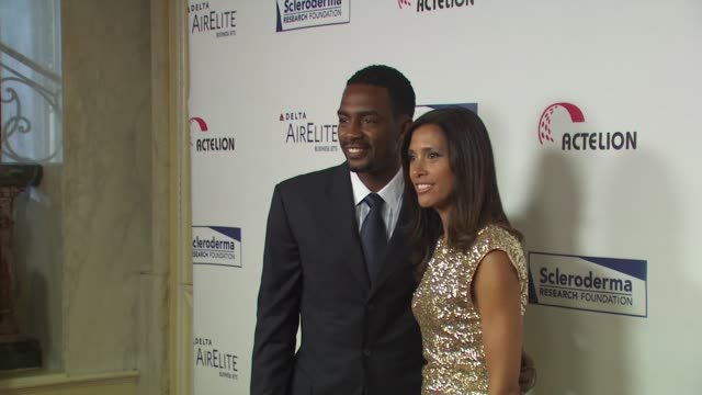 bill bellamy kristen bellamy at the scleroderma research foundation's 'cool comedy hot cuisine' at beverly hills ca - bill bellamy stock videos and b-roll footage