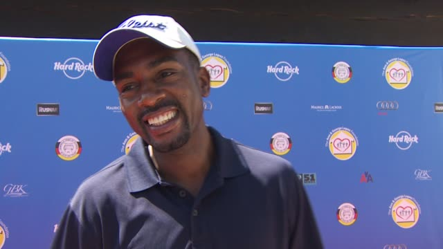 bill bellamy on being a part of the event what he appreciates about george lopez's philanthropic efforts the organization's mission and if he's an... - bill bellamy stock videos and b-roll footage