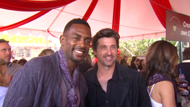 bill bellamy patrick dempsey at the john varvatos 8th annual stuart house benefit at los angeles ca - bill bellamy stock videos and b-roll footage