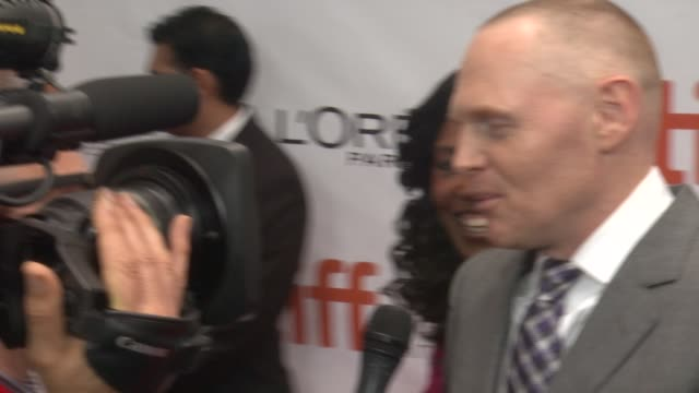 bill burr black and white premiere 2014 toronto international film festival at roy thomson hall on september 06 2014 in toronto canada - toronto international film festival stock videos and b-roll footage
