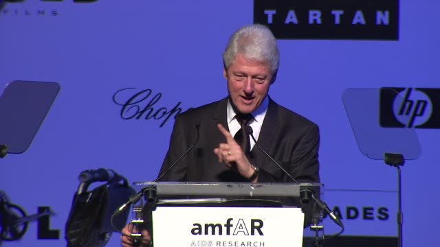Bill Clinton discusses how when times get difficult we must all work to provide more and not less to those in need to reduce the inequality in the...