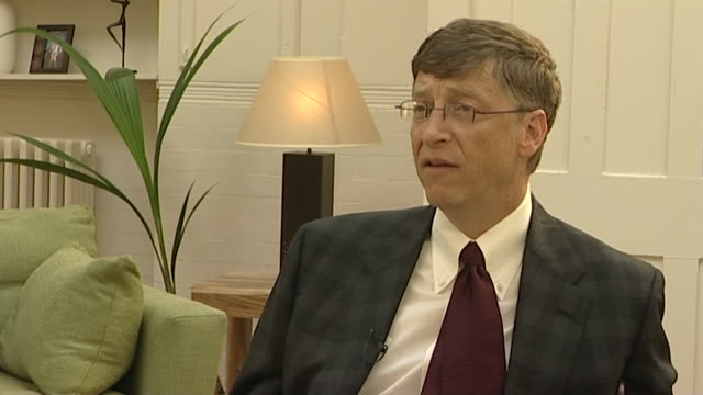 bill gates talks about the 1999 dot com bubble saying 'we won't see that again in our lifetime' - bubble stock videos & royalty-free footage