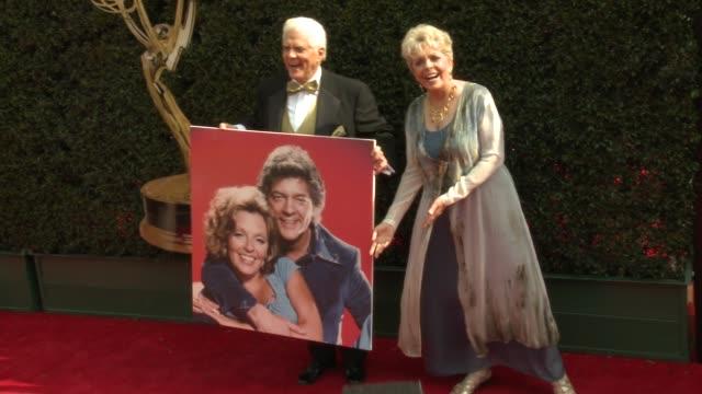 Bill Hayes and Susan Seaforth Hayes at the 2018 Daytime Emmy Awards at Pasadena Civic Auditorium on April 29 2018 in Pasadena California