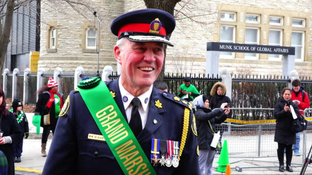 bill is the grand marshal of the 2015 parade the event is also known as the feast of saint patrick which is a cultural and religious celebration... - religious saint stock videos and b-roll footage