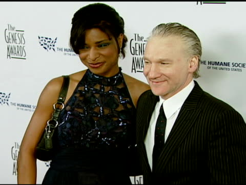 Bill Maher and guest at the 2008 Genesis Awards at the Beverly Hilton in Beverly Hills California on March 30 2008