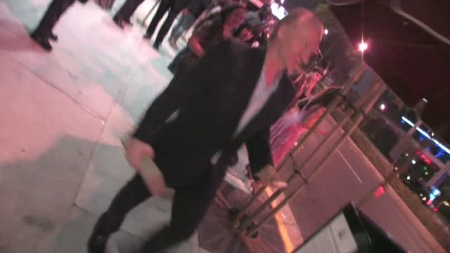 bill maher at jimmy fallon's emmy after party 2011 at trousdale in west hollywood - jimmy fallon stock videos and b-roll footage