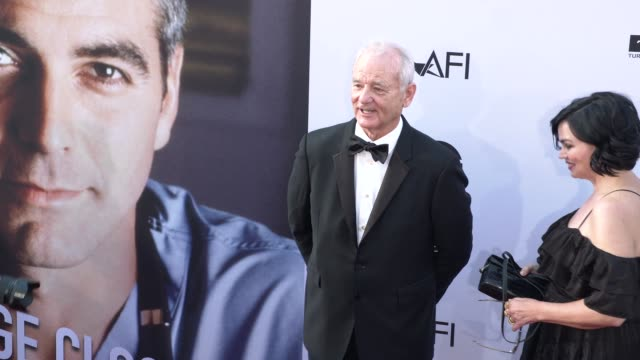 Bill Murray at the American Film Institute Honors George Clooney With 46th AFI Life Achievement Award at Dolby Theatre on June 07 2018 in Hollywood...