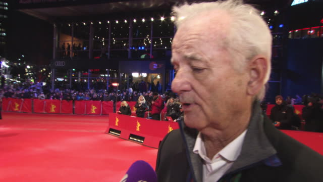 INTERVIEW Bill Murray on the film and its very current undertones at 68th Berlin Film Festival Isle of Dogs Opening Red Carpet 68th Berlin Film...