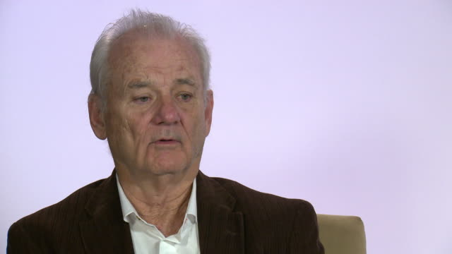 INTERVIEW Bill Murray on watching the movie for the first time at 68th Berlin Film Festival Isle of Fogs Interviews at Hotel Adlon on February 16...