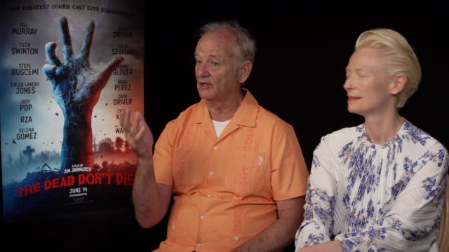 FRA: 'The Dead Don't Die' Interviews - The 72nd Annual Cannes Film Festival