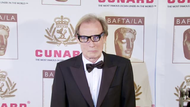 bill nighy at the 16th annual 2007 bafta/la cunard britannia awards at the century plaza hotel in century city california on november 1 2007 - century city stock videos & royalty-free footage