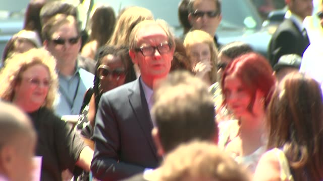 bill nighy at the 'g-force' premiere at hollywood ca. - g force stock videos & royalty-free footage