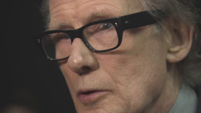 bill nighy at 'their finest' - premiere at bfi southbank on april 12, 2017 in london, england. - bfi southbank stock videos & royalty-free footage