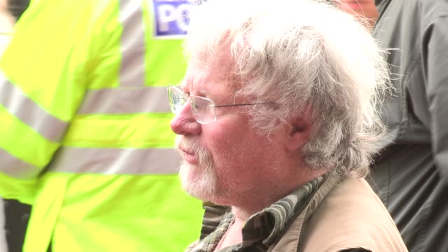 bill oddie at we will rock you - 10 year anniversary celebration at dominion theatre on may 14, 2012 in london, england - the dominion theatre stock videos & royalty-free footage