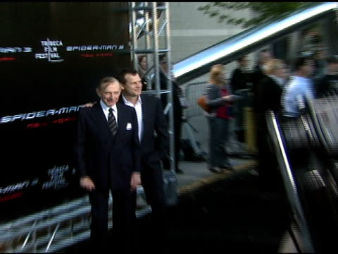bill paxton and john paxton at the 'spiderman 3' premiere at 2007 tribeca film festival at the astoria kaufman theater in new york new york on april... - bill paxton stock videos and b-roll footage
