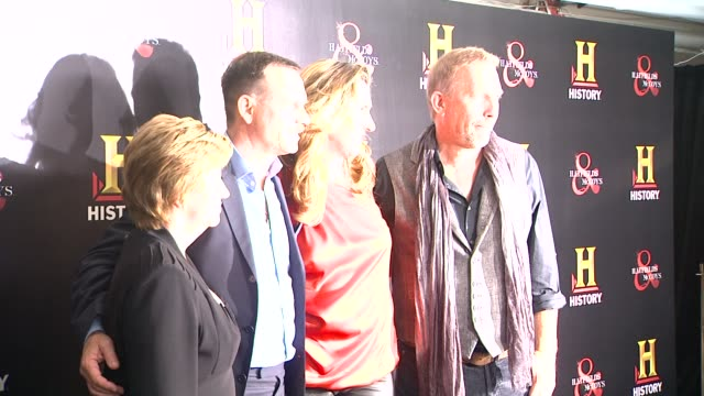 bill paxton and kevin costner at historyõs hatfields mccoys preemmy party at historyõs hatfields mccoys preemmy party on 9/22/12 in west hollywood... - bill paxton stock videos and b-roll footage