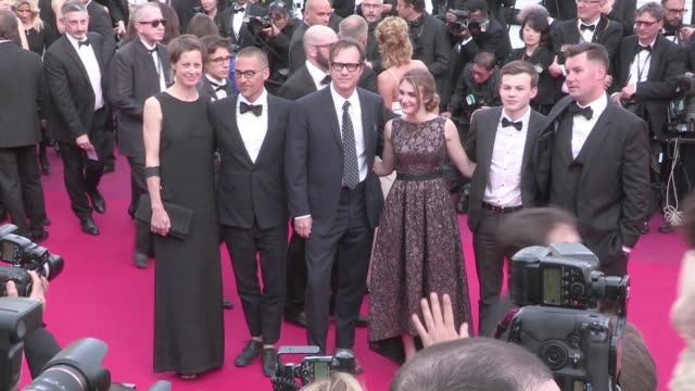 bill paxton and more on the red carpet for the premiere of loving at the cannes film festival 2016 monday 16th may 2016 cannes france - bill paxton stock videos and b-roll footage