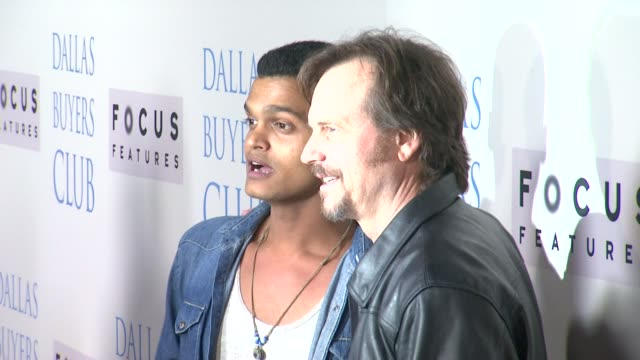 bill paxton at dallas buyers club los angeles premiere presented by focus features on 10/17/13 in beverly hills ca - bill paxton stock videos and b-roll footage