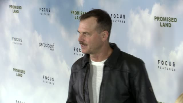 bill paxton at promised land los angeles premiere on 12/6/12 in los angeles ca - bill paxton stock videos and b-roll footage