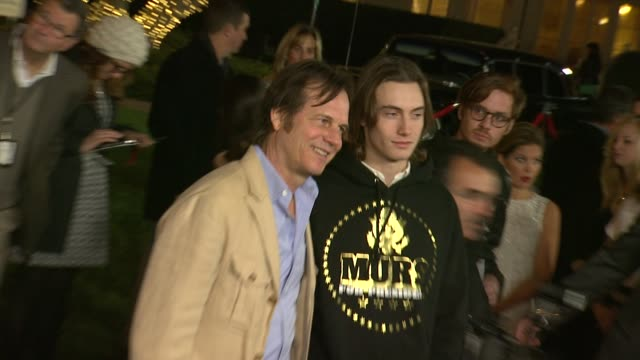 bill paxton at saving mr banks los angeles premiere in burbank ca on 12/9/2013 - bill paxton stock videos and b-roll footage