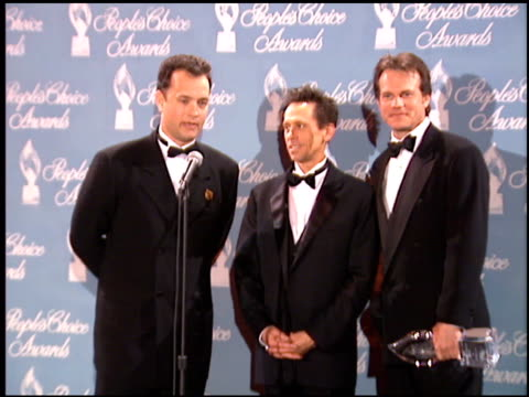 bill paxton at the 1996 people's choice awards at universal studios in universal city, california on march 10, 1996. - bill paxton stock videos & royalty-free footage