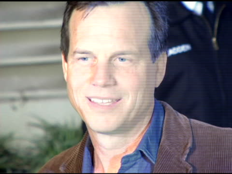 bill paxton at the 'aeon flux' los angeles premiere at the cinerama dome at arclight cinemas in hollywood, california on december 1, 2005. - bill paxton stock videos & royalty-free footage