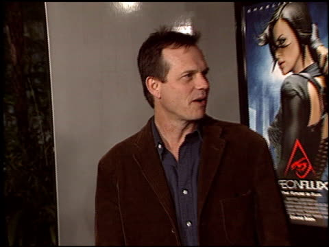 bill paxton at the 'aeon flux' premiere at the cinerama dome at arclight cinemas in hollywood, california on december 1, 2005. - bill paxton stock videos & royalty-free footage